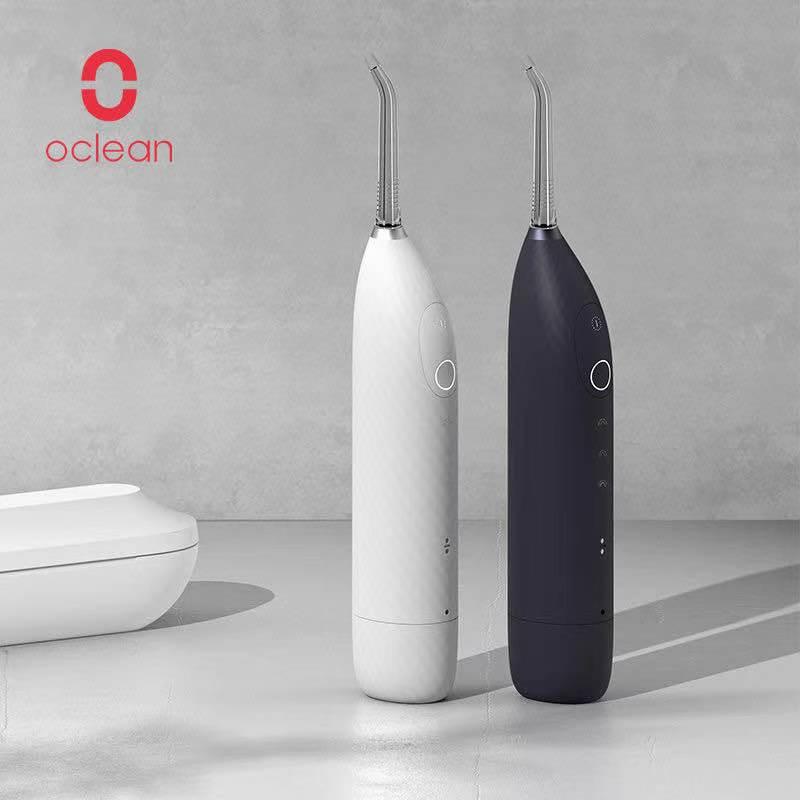 Oclean-W1 Monddouche-منظف خيط المياه ، منظف لـ obleadbare ، tandelkundige ، مقاوم للماء ، خزان 30 مللي