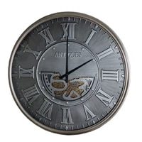 nordic large wall clock vintage clocks wall home decoration industrial style watches creative retro wall living room decoration