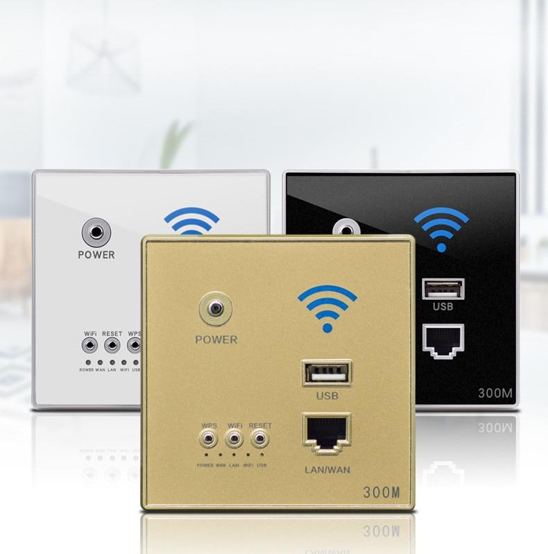 300 mbps 220 v ap relé de potência inteligente sem fio wi fi repetidor extensor parede incorporado 2.4 ghz roteador painel usb soquete
