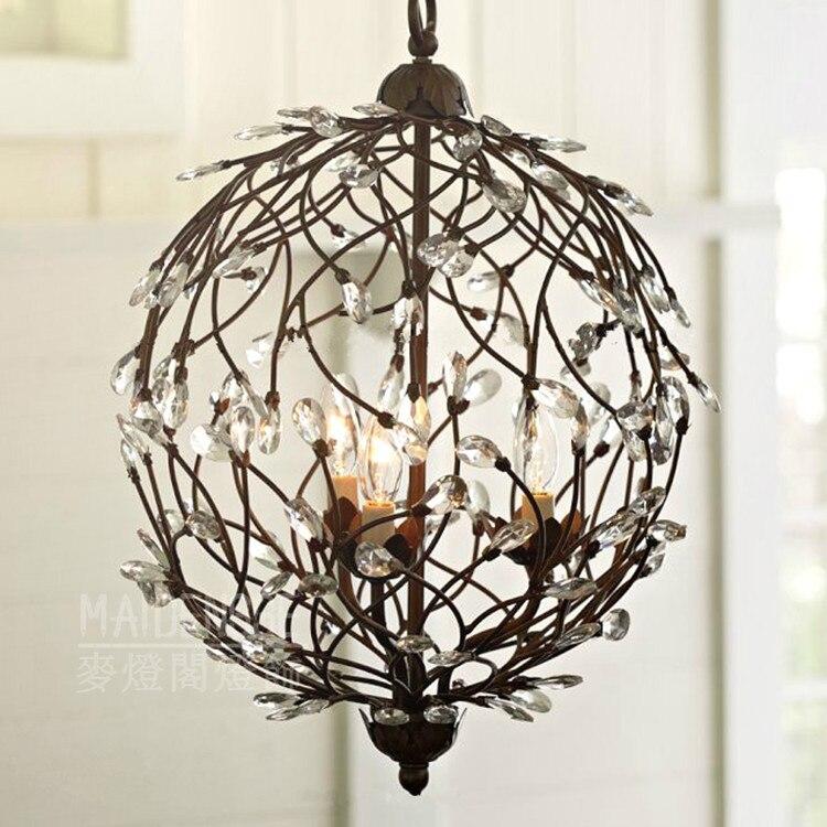 Современные украшения для дома хрустальная люстра для столовой лампа для кафе/бара светильник Dia330MM AC90-260V Бесплатная доставка