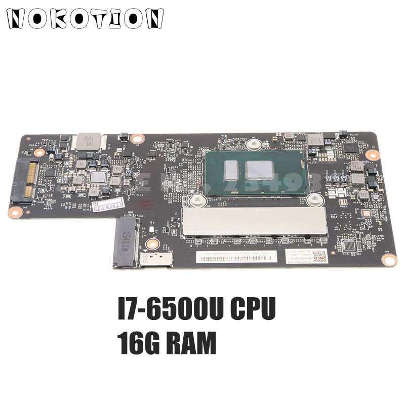 NOKOTION 5B20K48454 BYG40 NM-A411 اللوحة الرئيسية لينوفو اليوغا 900-13ISK اللوحة الأم I7-6500U وحدة المعالجة المركزية 16G RAM