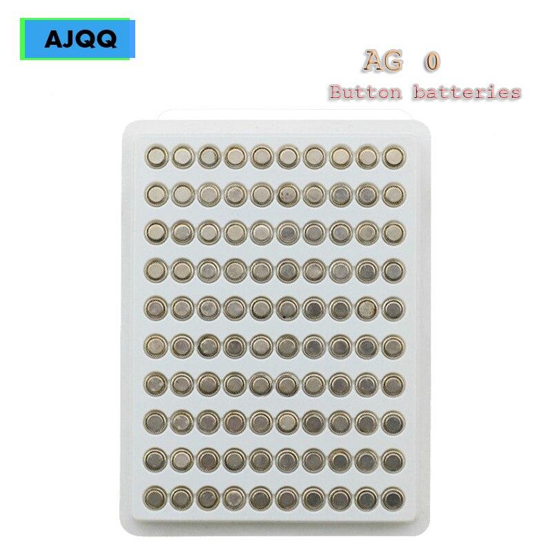 100PCS Preço de Fábrica AG0 LR69 LR521 379A 1.55v knoopcel Sr521sw D379 batterij Bateria Alcalina Utilizada Para calculadora