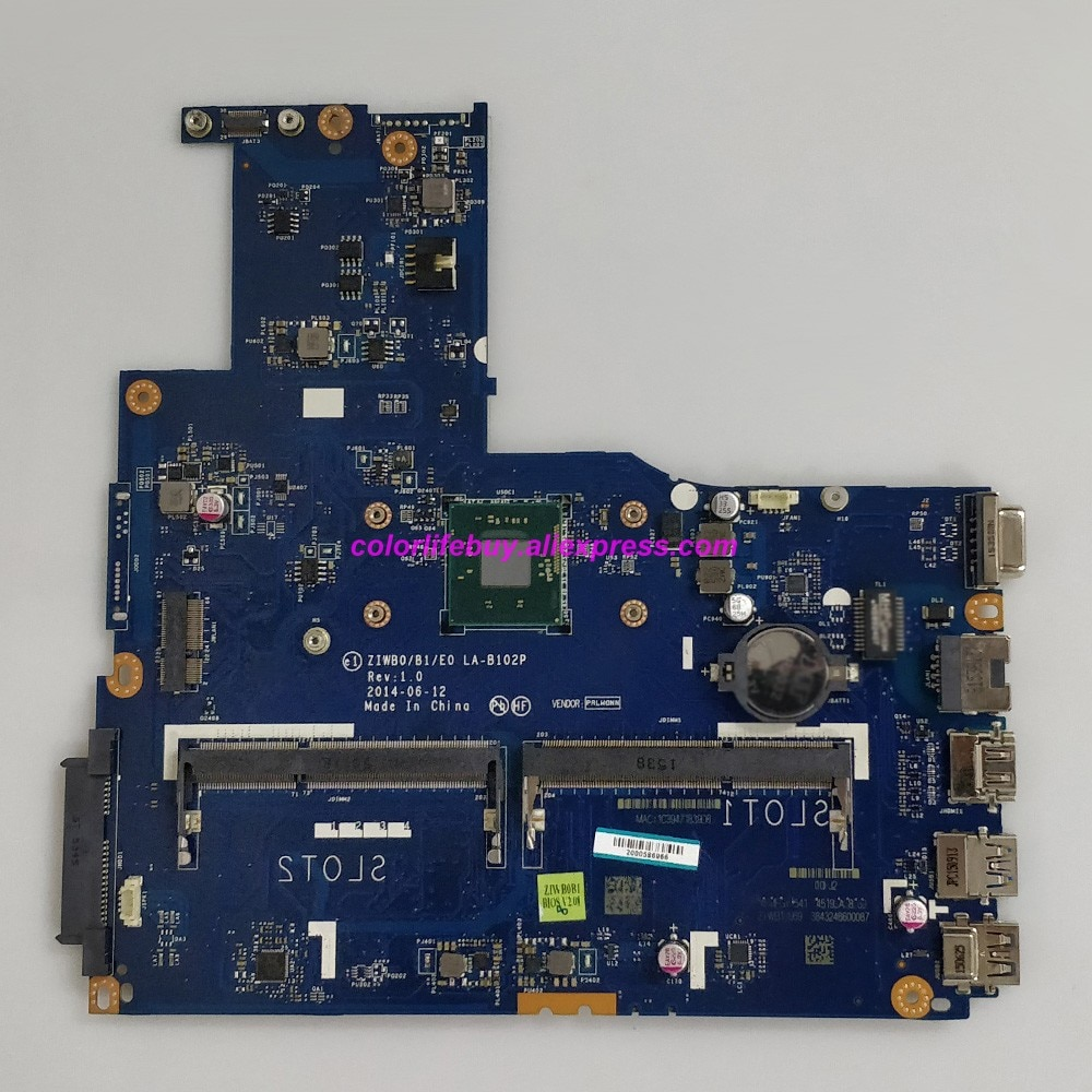 Genuino 5B20G45952 ZIWB0/B1/E0 LA-B102P w N2830 CPU ordenador portátil placa madre para Lenovo B50-30 NoteBook PC