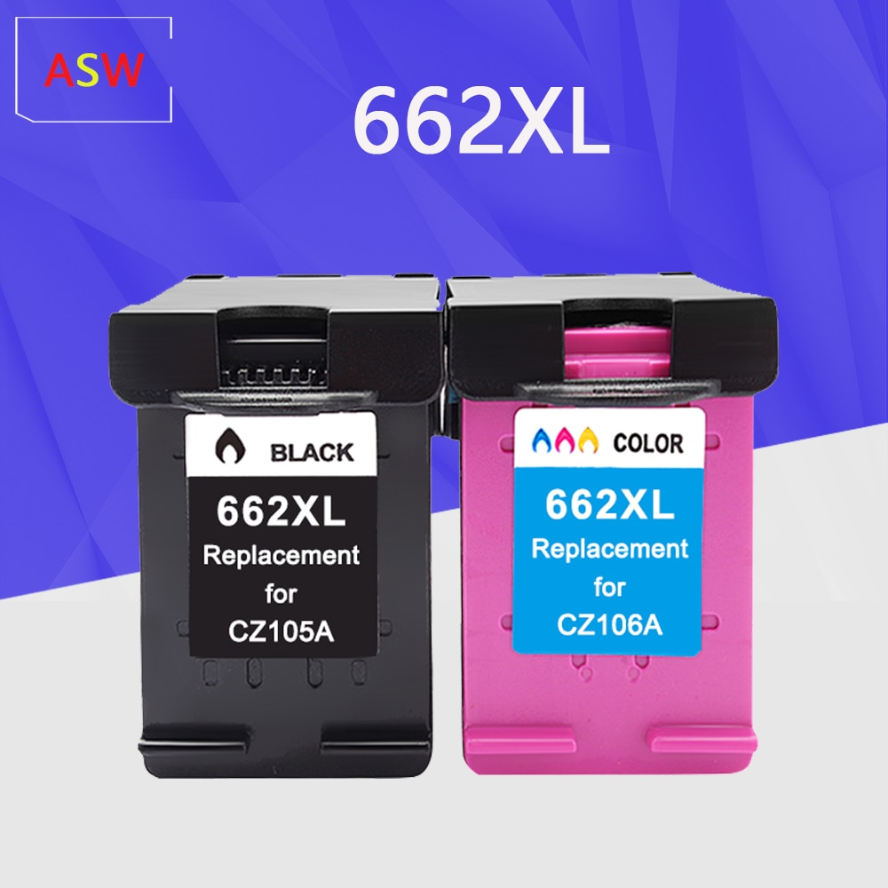 662XL For HP 662 XL 662XL Ink Cartridges For HP662 Deskjet Advantage 1015 1515 2515 2545 2645 3515 3545 4515 4645 Inkjet