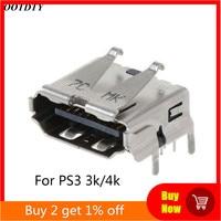 Замена коннектора интерфейса для Playstation 3 PS3 HD PS 3 Super Slim 3000 4000 3K 4K HDMI