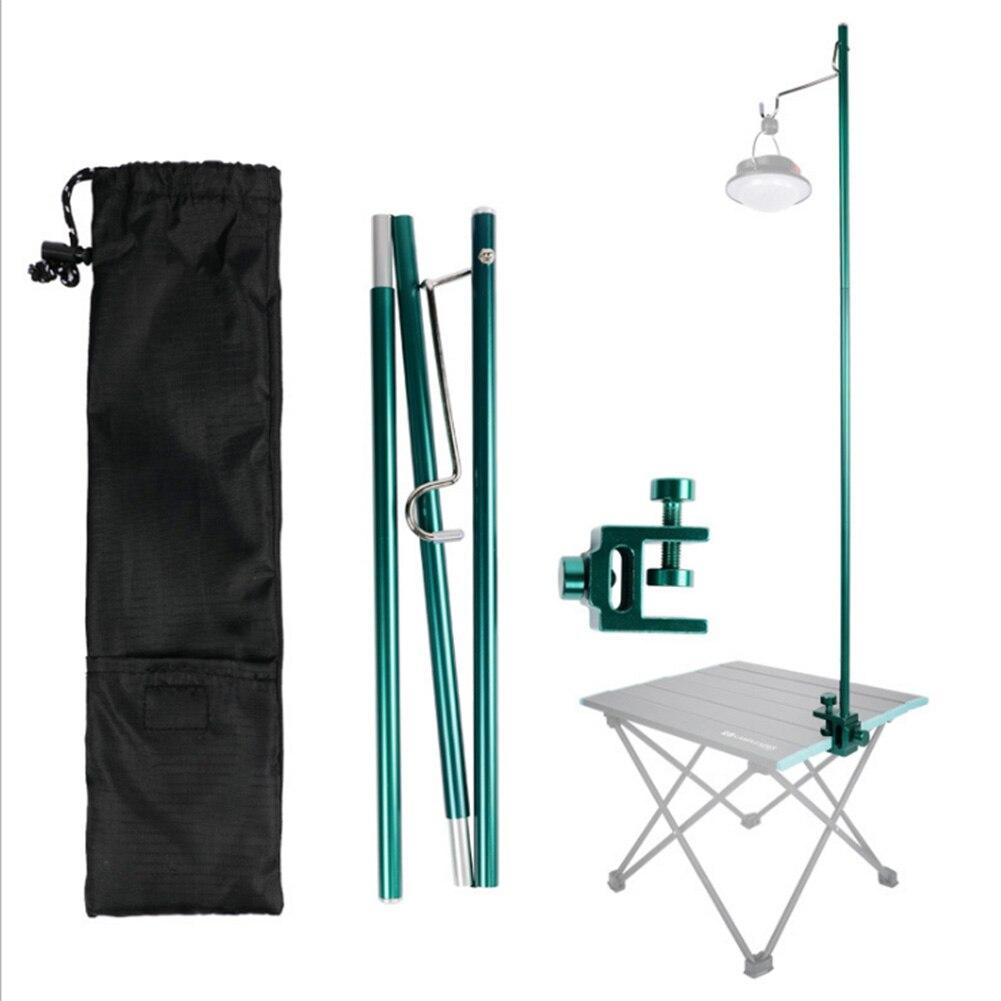 Soporte plegable desmontable para lámpara, soporte para Camping, soporte de farol para Camping al aire libre, elementos portátiles para exteriores