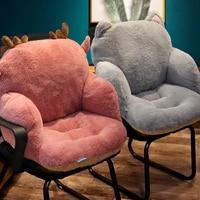 chair one piece cushion office sedentary butt mat student seat back cushions waist support chair backrest mat home decoration