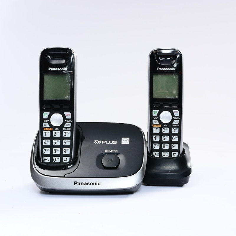 Un teléfono inalámbrico tect Digital con ID de llamada manos libres inalámbrico fijo teléfono fijo para oficina hogar