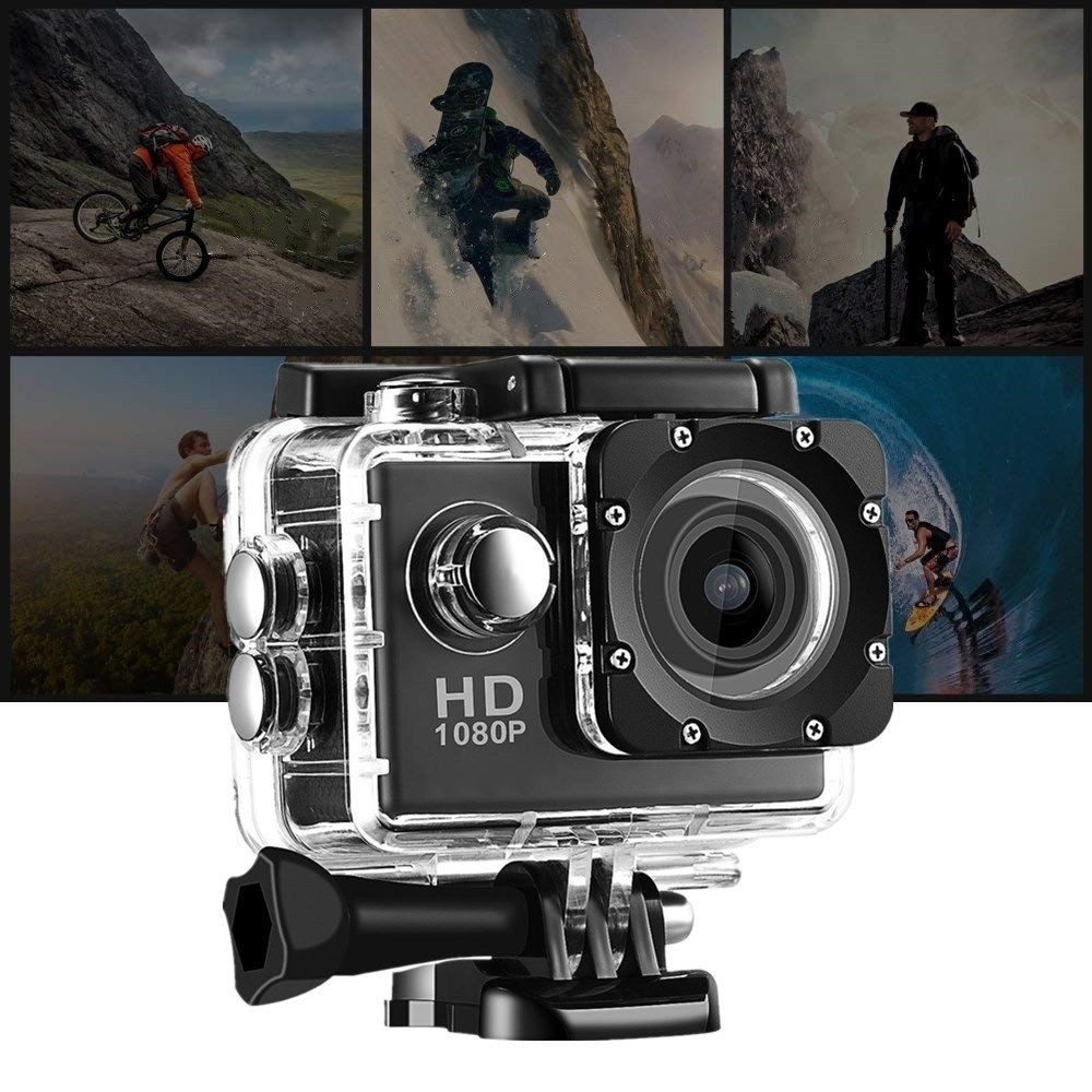 Chest fixed 360 motion panoramic camera 1 motion camera waterproof riding camera 4K HD recorder enlarge