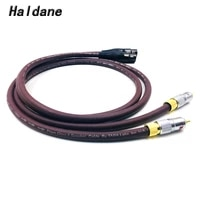 haldane pair nakamichi 2rca male to 2 xlr female cable rca xlr interconnect audio cable gold plated plug with prism omni 2 wire