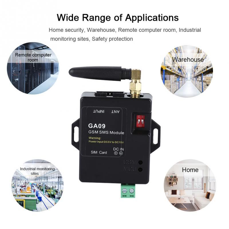 Mini 8 CH Home Security GSM Alarm System with Intelligent Design and Wireless SMS Telephone Call Alarm Hot Sale enlarge