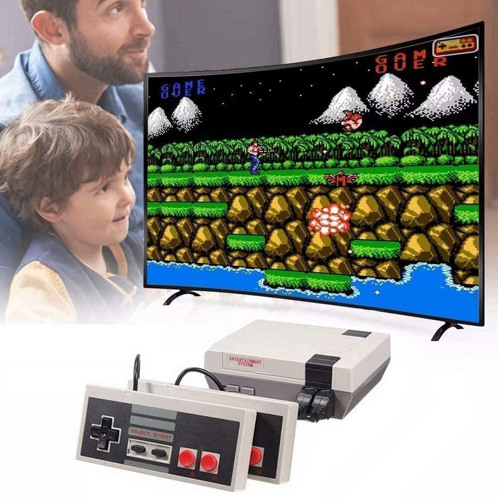 Classic Nostalgia Game Console Retro Video Playstation Mini Plug Play Handheld Built-in 620 FC Games Great for Family Interact