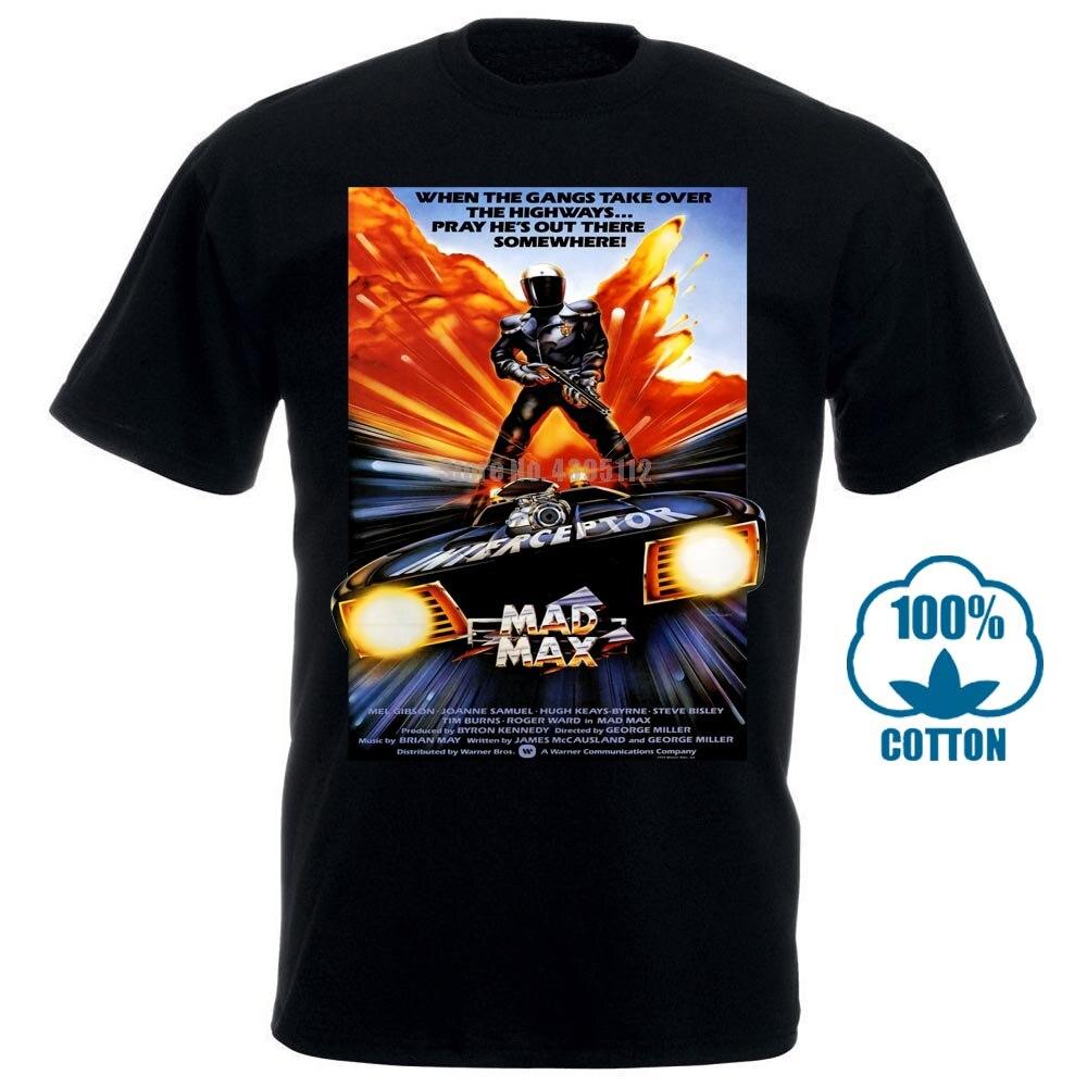 Mad Max película hombres Nazca camisetas satanismo camiseta perezoso negro camiseta Vaporwave camisetas nuevo Bgfbtx camiseta para hombres