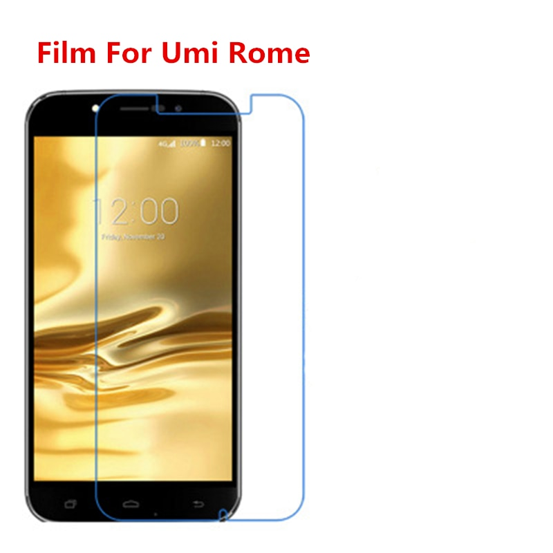1/2/5/10 Pcs Ultra Thin Clear HD LCD Screen Protector Film With Cleaning Cloth Film For Umi Rome.