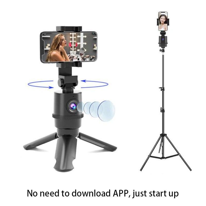 حامل ثلاثي القوائم لتتبع الوجه للصور ، عصا سيلفي دوارة 360 درجة ، حامل ثلاثي القوائم لتتبع الأشياء ، كاميرا Gimbal للصور ، مدونة فيديو حية ، تسجيل ...