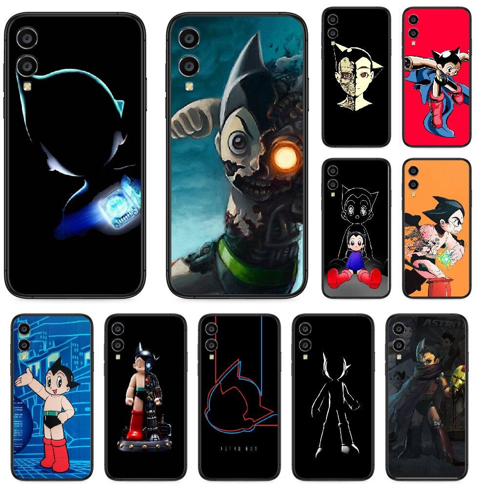 BLITZWAY Astroboy etui na telefon do Huawei Honor 10 10i 20 6A 7A 7C 8 8A 8X 9 9X Play View 20 Lite Pro czarny coque fashion hoesjes