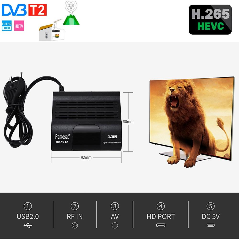 DVB HD-99 T2 الحرة صندوق التلفزيون الرقمي 1080P كابل استقبال DVBT2 موالف Dvb T2 استقبال الأقمار الصناعية Dvb-t2 يوتيوب IPTV مجموعة بو