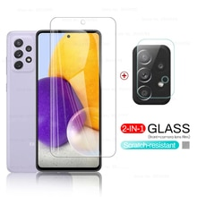 tempered glass for sansung a72 protective glasses for samsung galaxy a 72 a72 2021 4g/5g 6.7'' camer