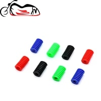foot operated gear pedal foot pad for kawasaki ninja 250r300400500r650650r1000 zzr 40060011001200 shift lever covers