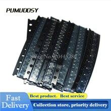 150 Teile/los 15 Arten SMD Triode Kit SOT23 Transistor Set SOT-23 Transistor Kit Assorted Set S9012-S9014 BAV90 BAV70 MMBT5551