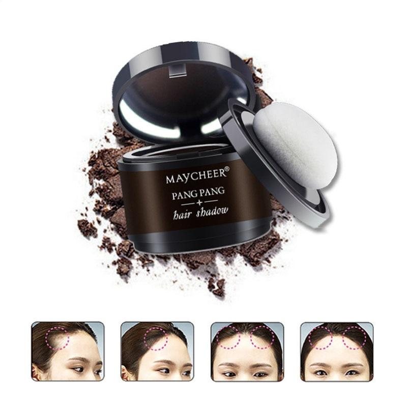 MAYCHEERWater Proof Hair Line Powder 4 Colors Edge Control Hair Line Shadow Makeup Hair Concealer