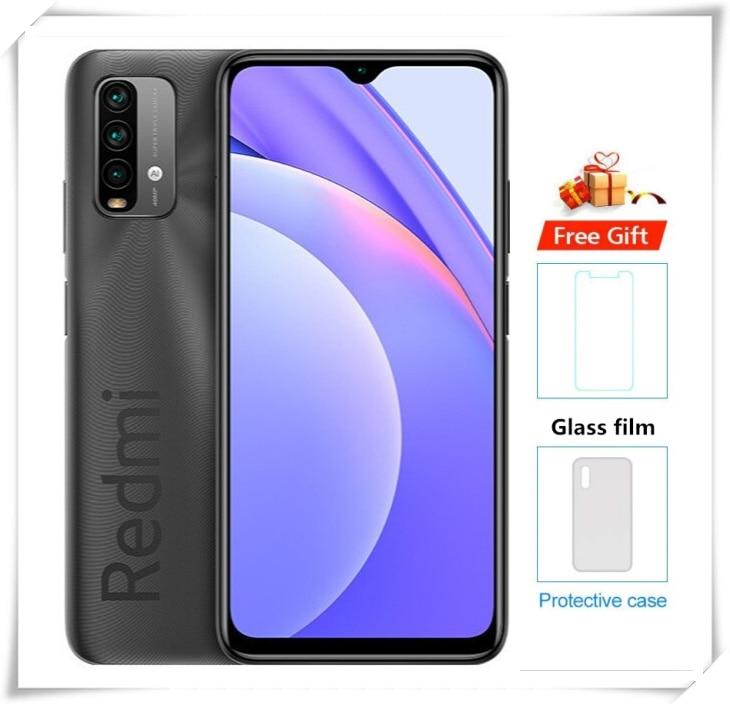Xiaomi Redmi note 9 смартфон 8 ГБ 128 Snapdragon 662 Android 10 Мобильный телефон 48MP Quad Camera 6000 мА/ч, 6,53 дюйм 4 аппарат не привязан к оператору сотовой связи для мобильног...