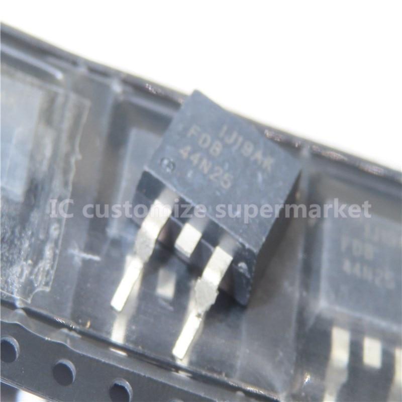 10 шт./лот FDB44N25 TO 263 250V 44A SMD Triode Интегральные схемы      АлиЭкспресс