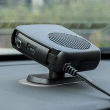 Dégivreur de voiture 12V   Chauffage instantané, avec poignée pliable, ventilateur, Protection contre les surchauffes, pour véhicule