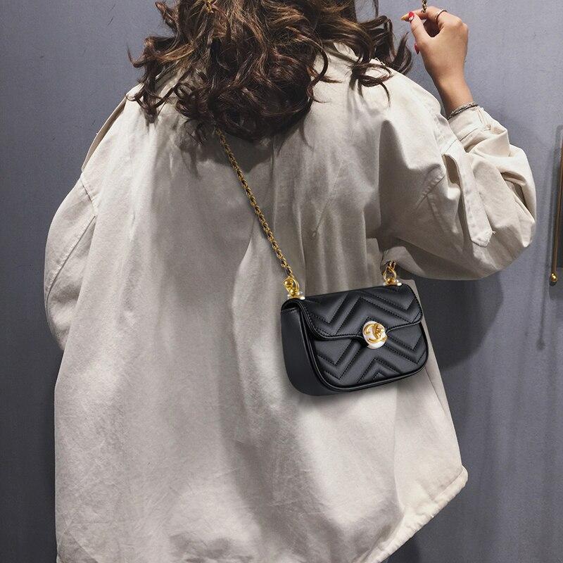 جلد المرأة حقيبة جديدة 2021 المرأة الأدب حقيبة كتف موضة الراقية تصميم أفقي حقيبة الاتجاه حقيبة يد