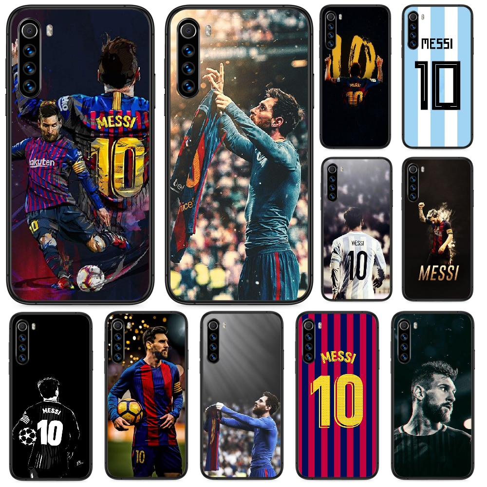 Lionel Messi Football Soccer Phone Case For Xiaomi Redmi Note 4A 4X 5 6 6A 7 7A 8 8A 4 5 5A 8T Plus Pro Black Cover Fashion original liquid silicone phone case for xiaomi redmi k20 8a 7a 5a 4x s2 5 plus soft back cover for redmi note 4x 8 7 6 5 pro