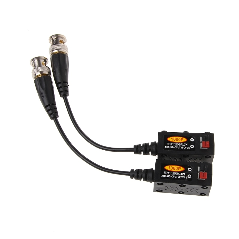10Pairs Passive Twisted Pair UTP CCTV Video Balun Transceiver For HDCVI TVI AHD CVBS Camera enlarge