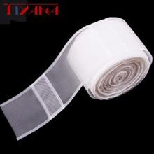 10 mètre rideau ruban crochet rideaux accessoires blanc transparent rideau ruban polyester crochet ruban #3