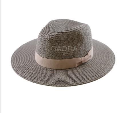 Chapeau de plage grande taille pour hommes   Chapeau Fedora, chapeau de plage de grande taille, chapeau de paille grande taille pour hommes, 55-57cm 58-59cm 60-62cm 62-64cm