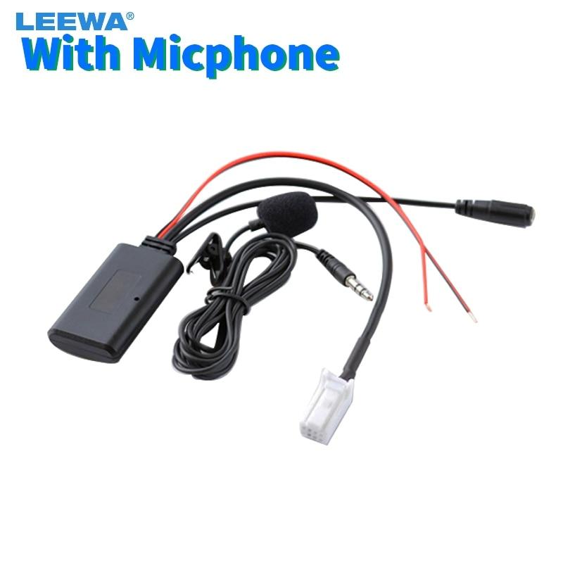 Módulo Bluetooth inalámbrico para coche LEEWA, adaptador auxiliar de música para Suzuki Sx4 Grand Vitara, Cable auxiliar receptor de Audio #6292
