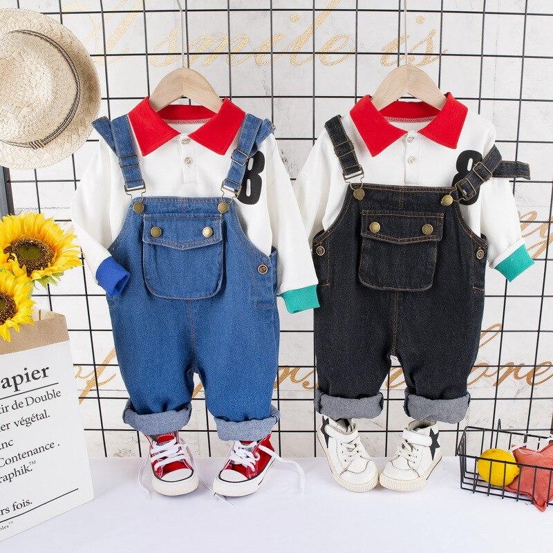 Bebê recém-nascido menino verão roupas formais conjunto dos desenhos animados do aniversário meninos terno geral branco camisa da criança cavalheiro roupa conjuntos de pano