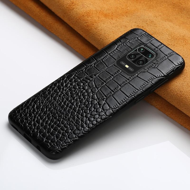 Original de cuero funda de teléfono para Xiaomi Redmi Note 9 Pro 9S 8T Nota 8 Pro 7 para Xiomi Mi 10 Pro 9 Lite 9T Poco F2 Pro A3 8