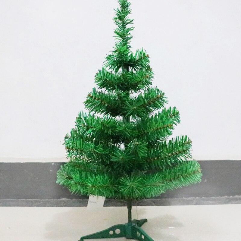 60CM cifrado verde árbol decoración Mini Artificial árbol de Navidad decoraciones familia Navidad decoración hogar fiesta
