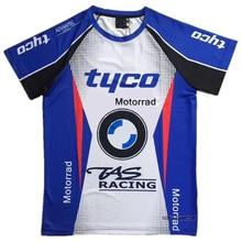 Motocross T-shirt pour BMW moto de moto   Chemises dété pour moto de moto de descente