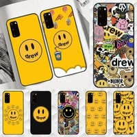 justin bieber drew house phone case for samsung a10 a10s a20s a51 a52 a70 a72 2018 soft cover shell