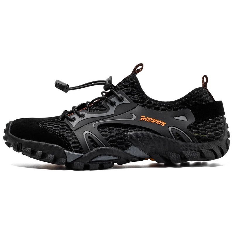 humtto summer men sandals 2021 breathable beach sandals for men's outdoor water mens hiking camping fishing climbing aqua shoes 2019 Trekking Hiking Shoes For Men Summer Breathable Mountain Climbing Shoes Hiking Sandals Men Trekking Trail Water Sandals