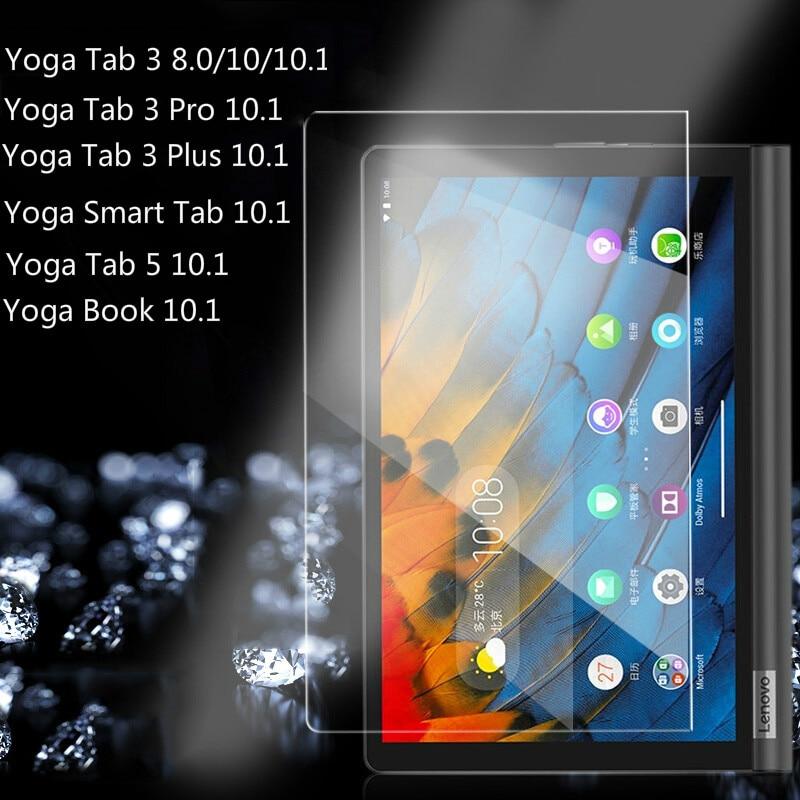 Защита экрана планшета 9H для Lenovo YOGA Tab 5 10,1 дюймов 2020 Tab 3 Pro Tab 3 Plus Yoga Book Smart Tab Premium Tempred стекло Защитные экраны для планшеов      АлиЭкспресс