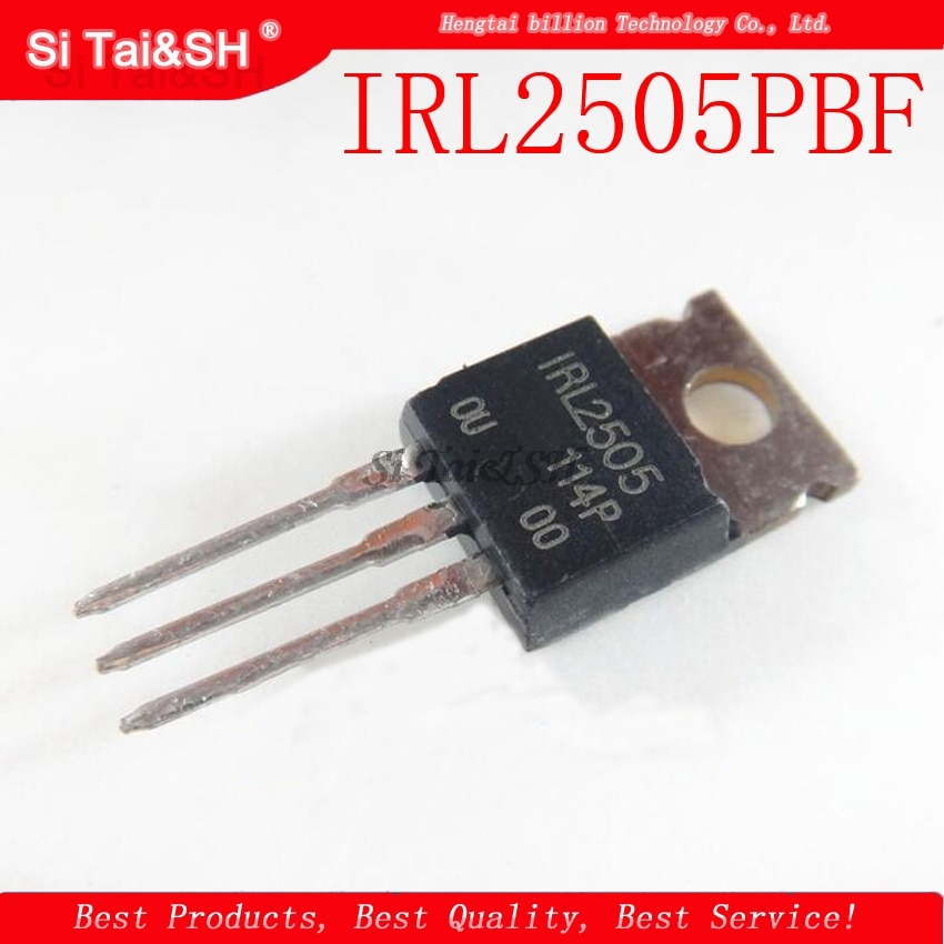 5 pçs/lote IRL2505PBF PARA-220 IRL2505 TO220 novo MOS FET transistor