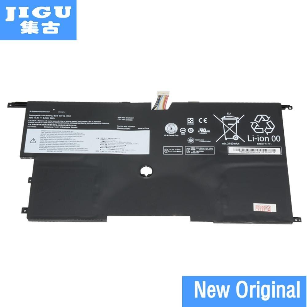Batería de ordenador portátil jgu ORIGNAL 00HW002 00HW003 45N1070 45N1071 para LENOVOFor ThinkPad X1 Carbon 3448 Series win8 15,2 V 51WH