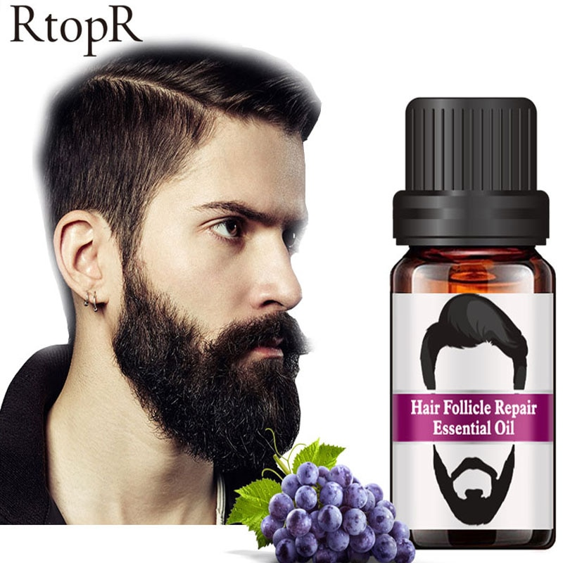Men Beard Growth Oil Soften Hair Growth Nourishing Enhancer Beard 100% Natural Ingredients Anti Hair Loss Grow Moustache Essence недорого