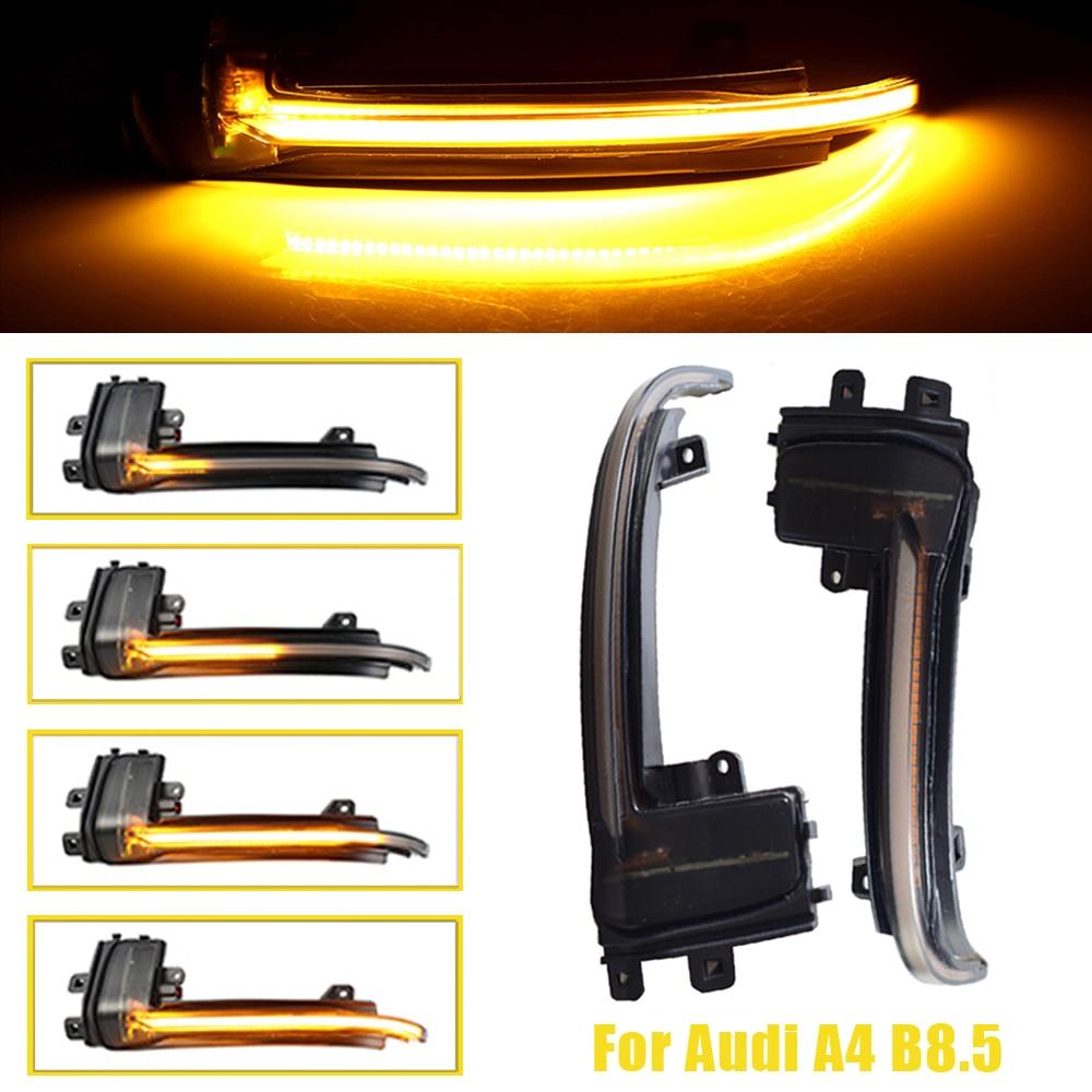 For Audi A4 A5 B8 B8.5 A3 8P Q3 A6 C6 S6 SQ3 A8 D3 8K LED Dynamic Turn Signal Light Flasher Flowing Water Blinker Flashing Light