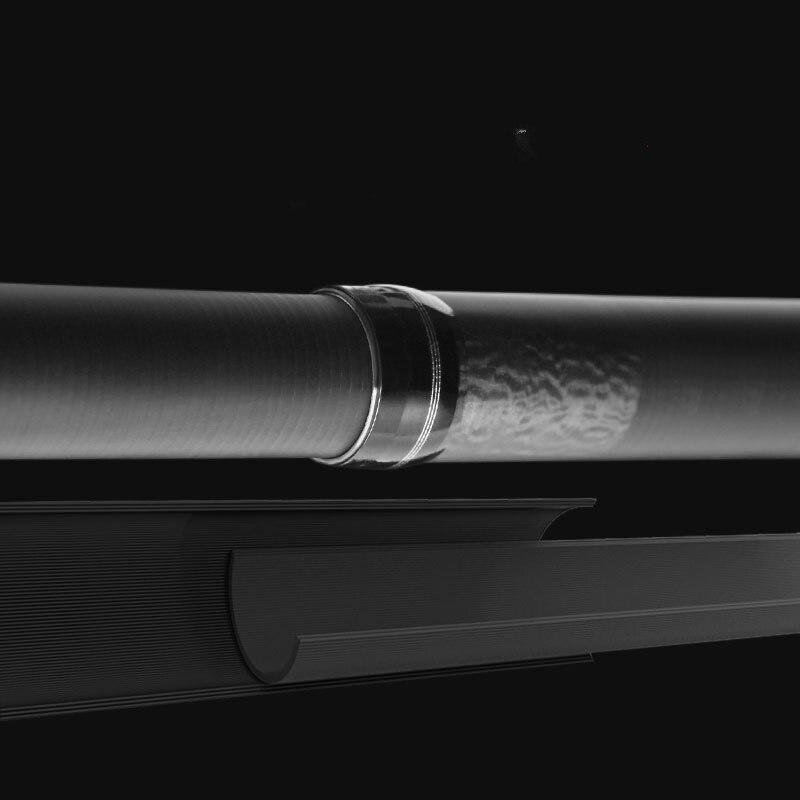 Portable Rock Fishing Rod 2.7M-5.4M Wedkarstwo Olta Tough Carbon Fiber M Power Telescopic Angeln Pesca Sea Boat Rock Fishing Rod enlarge