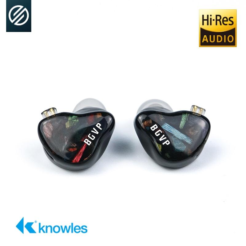 BGVP DH5 ArtMagic التكنولوجيا الهجينة HIFI في الأذن شاشات سماعات أذن بأسلاك الموسيقى الرياضة الألعاب سماعات أذن قابلة للفصل