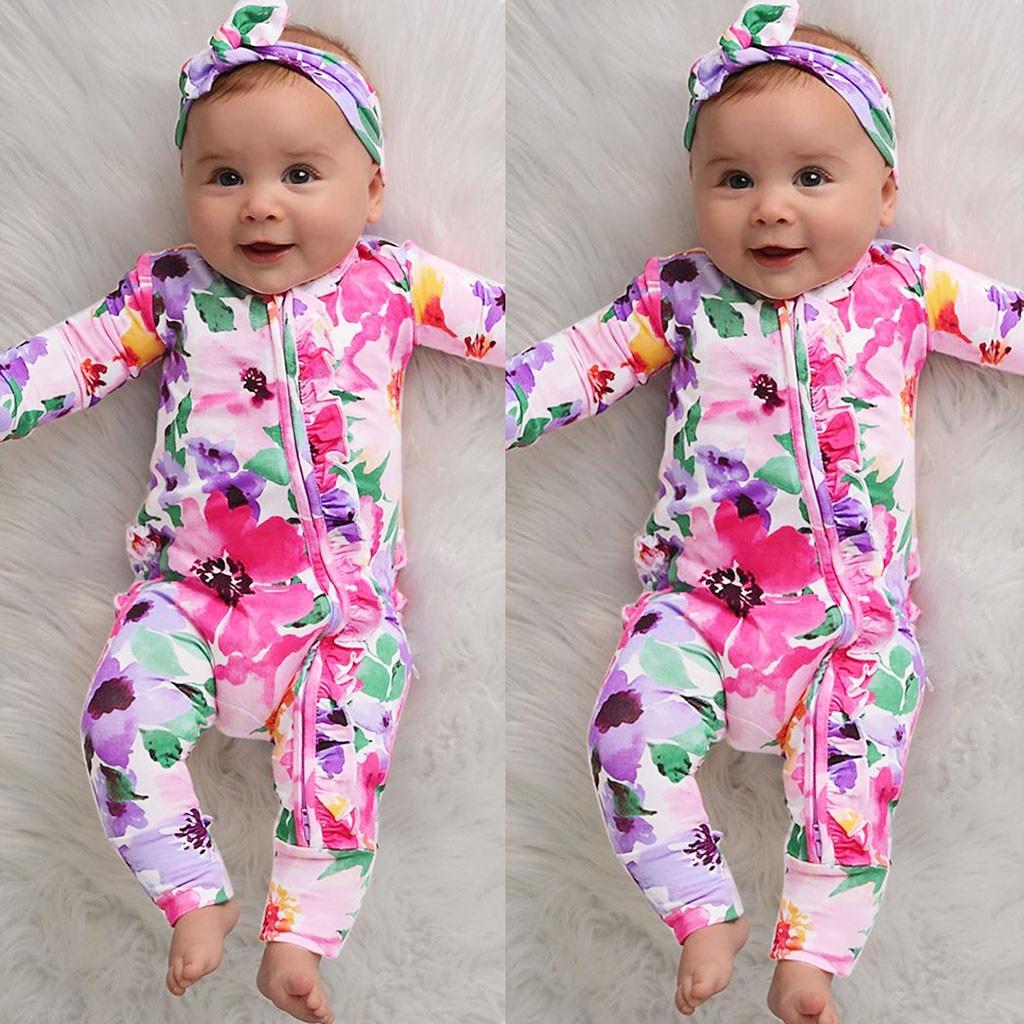 Ropa para bebé niña, pelele para bebé niña, Pelele de invierno pudcoco, disfraz de halloween, mono, mono, kombinezon dziecko 2019 estampado Z4