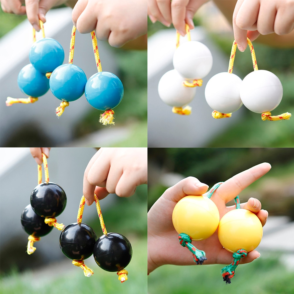 Musical Instrumen Dingling Ball Kids Toys ABS Maracas Percussion Instruments for Party Festival enlarge