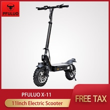 "2020 Pfuluo X-11 Smart Elektrische Scooter 48V 1000W Motor Kickscooter 50 Km/h 100Km 11 ""Band Off-Road Skateboard Longboard"